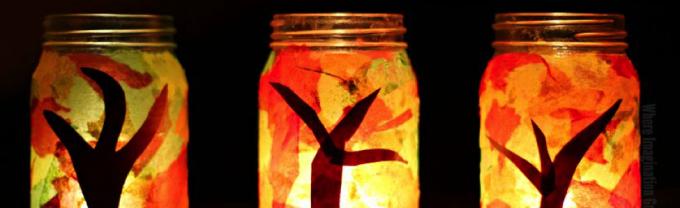 Jar art light project