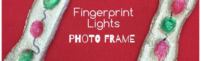 Fingerprint Lights Photo Frame