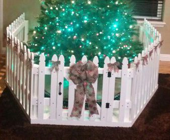 Toddler Proof Christmas Tree.Baby Toddler And Pet Proofing Your Christmas Tree Busy