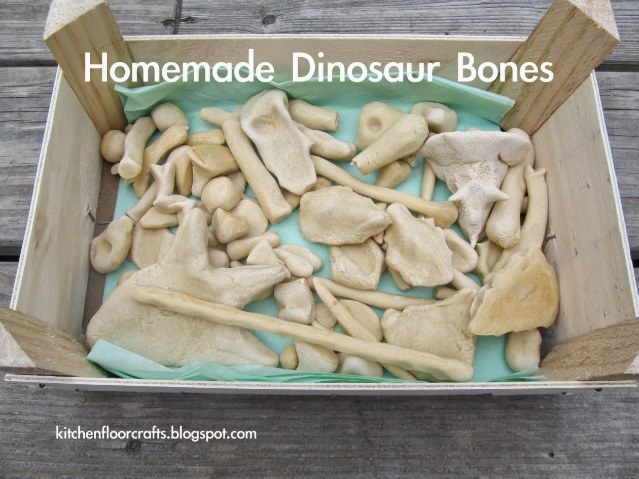 Make Your Own Dinosaur Bones - Busy Little Hands Early