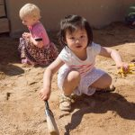 Dino dig day at our child care center