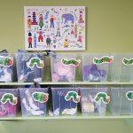 organized toddler items