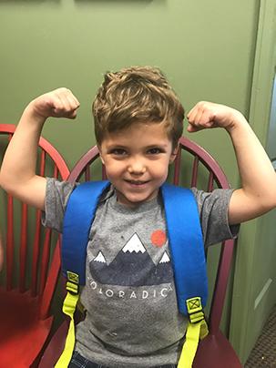 Energetic kid