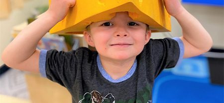 dr. seuss hat at preschool