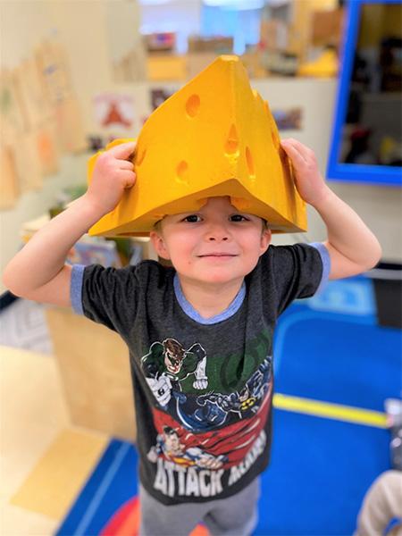 dr. seuss hat at preschool