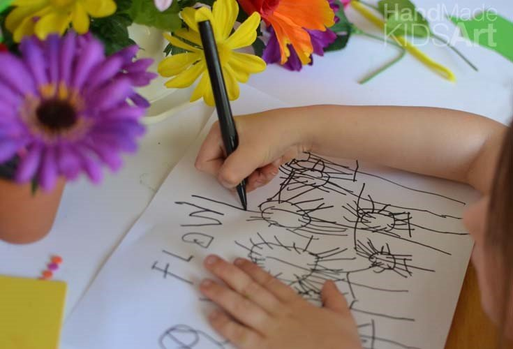 Observational Flower Drawing